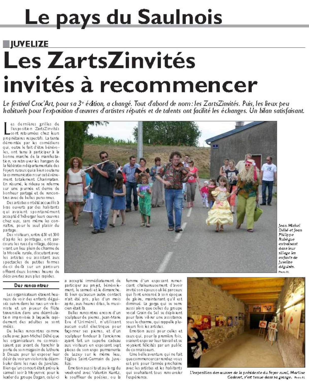 Les Zartszinvites Juvelize Moselle