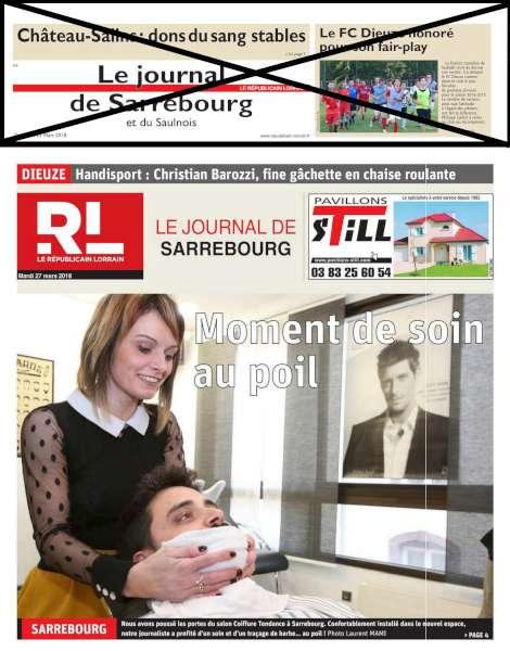 Le Republicain Lorrain Enterre Le Saulnois Juvelize Moselle