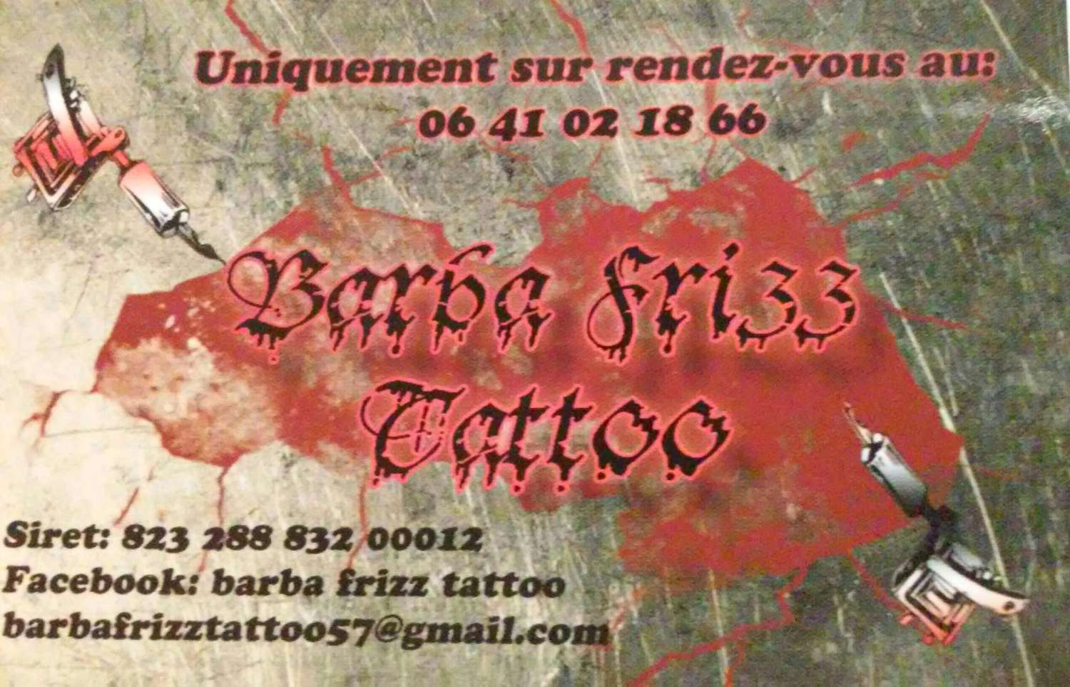 tattoo Barba Fritz 1500