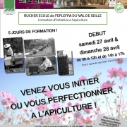 Formation d'initiation et de perfectionnement à l'apiculture