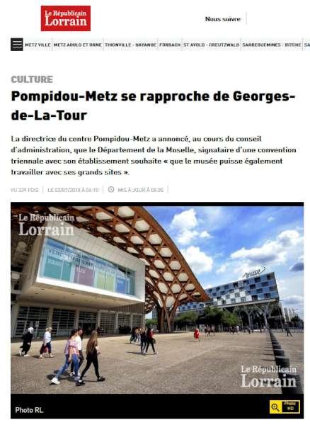 Ca Bouge Au Musee D Apres Le Republicain Lorrain De Metz